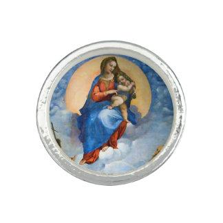 Madonna de Raphael de Foligno Anillo