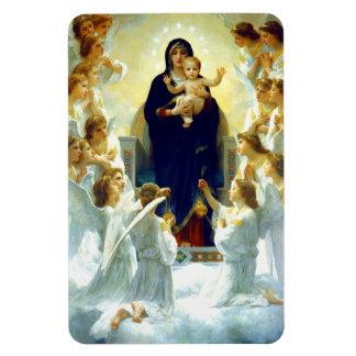 Madonna de W. Bouguereau. Imán del regalo del navi