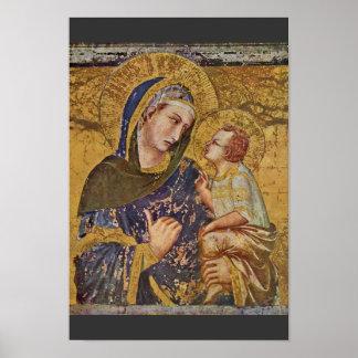 Madonna Dei Tramonti By Lorenzetti Pietro Poster