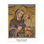 Madonna Dei Tramonti By Pietro Lorenzetti Postcard