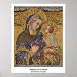 Madonna Dei Tramonti By Pietro Lorenzetti Print