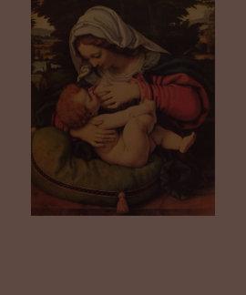 Madonna del amamantamiento verde de Solario del am Playeras