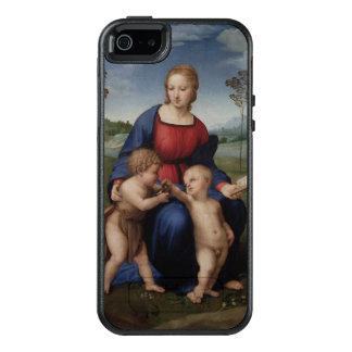 Madonna del arte renacentista del Goldfinch Funda Otterbox Para iPhone 5/5s/SE