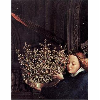 Madonna del canciller Nicholas Rolin de Eyck enero Escultura Fotografica