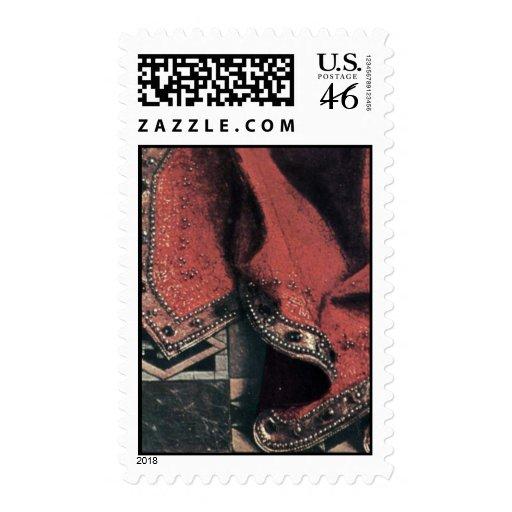Madonna del canciller Nicholas Rolin de Eyck enero Sellos