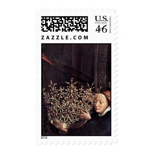 Madonna del canciller Nicholas Rolin de Eyck enero Sello
