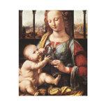 """""""Madonna del Carnation Impresiones En Lona"""