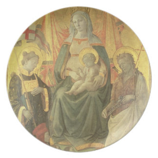 Madonna del Ceppo, 1453 (and detail 62016) Plate