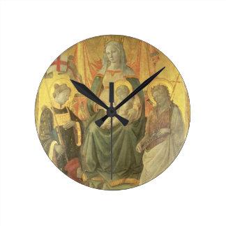 Madonna del Ceppo, 1453 (and detail 62016) Round Clock