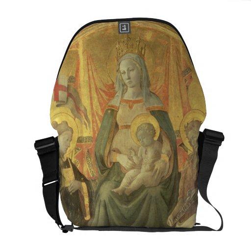 Madonna del Ceppo, 1453 (y detalle 62016) Bolsas De Mensajería