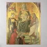 Madonna del Ceppo, 1453 (y detalle 62016) Poster