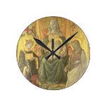 Madonna del Ceppo, 1453 (y detalle 62016) Relojes De Pared