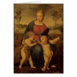 Madonna del Goldfinch, c.1506 Felicitaciones