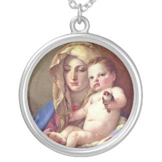 Madonna del Goldfinch Colgantes