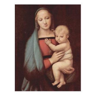 Madonna Del Granduca by Raphael Postcard