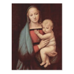 Madonna Del Granduca por Raphael Postal