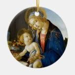 Madonna del libro por Botticelli Adorno Para Reyes