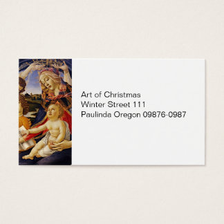 Madonna del Magnificat Business Card