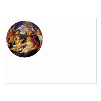 Madonna del Magnificat Business Card Template