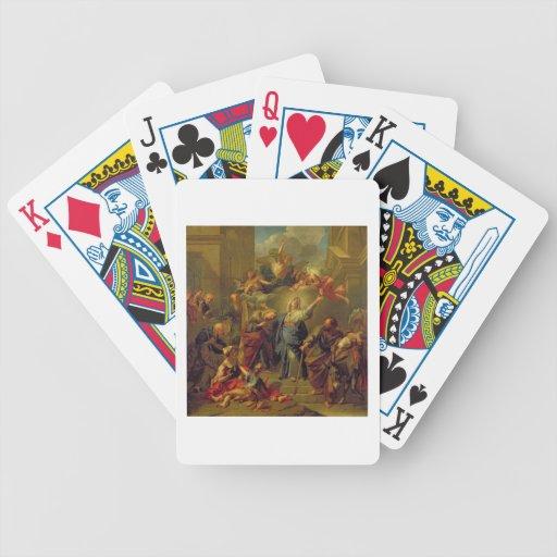 Madonna del Magnificat Baraja Cartas De Poker