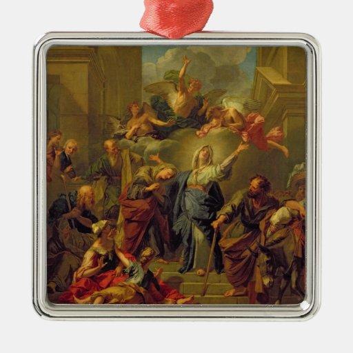Madonna del Magnificat Ornamento De Navidad