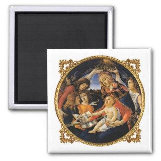 Madonna del Magnificat Iman Para Frigorífico