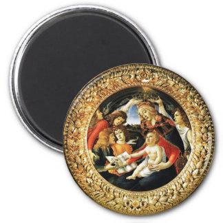 Madonna del Magnificat Imán De Frigorifico