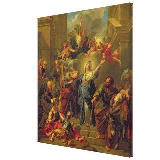 Madonna del Magnificat Impresion En Lona