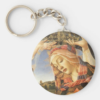 Madonna del Magnificat Keychain