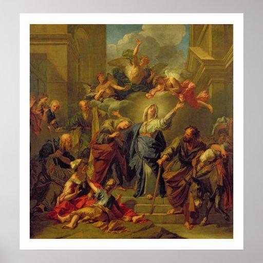 Madonna del Magnificat Posters