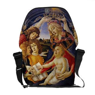 Madonna del Magnificat por Botticelli Bolsa De Mensajería
