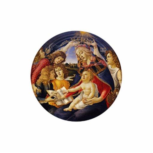 Madonna del Magnificat por Botticelli Escultura Fotográfica