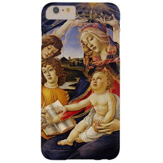 Madonna del Magnificat por Botticelli Funda De iPhone 6 Plus Barely There