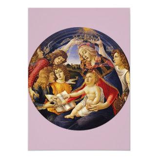 Madonna del Magnificat por Botticelli Comunicados Personalizados