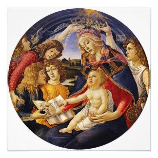 Madonna del Magnificat por Botticelli Impresiones Fotograficas