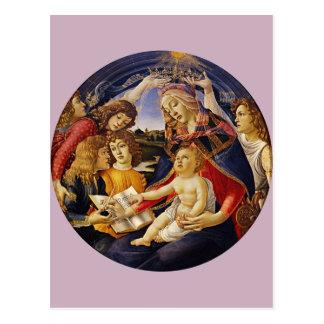 Madonna del Magnificat por Botticelli Postales