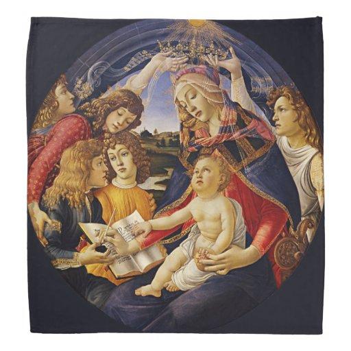 Madonna del Magnificat por Botticelli Bandana