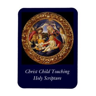 Madonna del Magnificat Rectangular Photo Magnet