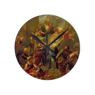 Madonna del Magnificat Reloj Redondo Mediano