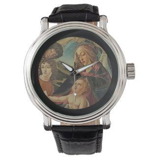 Madonna del Magnificat Relojes De Pulsera