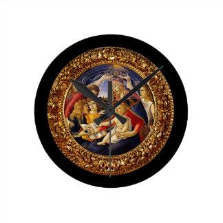 Madonna del Magnificat Round Clock