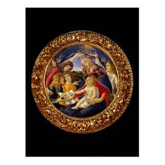 Madonna del Magnificat Tarjetas Postales