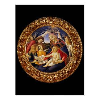 Madonna del Magnificat Tarjeta Postal
