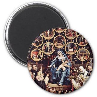 Madonna del rosario por la loteria Lorenzo (el mej Imanes