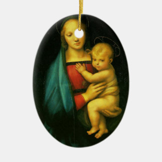 Madonna Dell Granduca - Raphael Ceramic Ornament