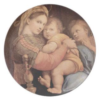 Madonna della Sedia Plate