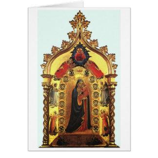 Madonna della Stella Card