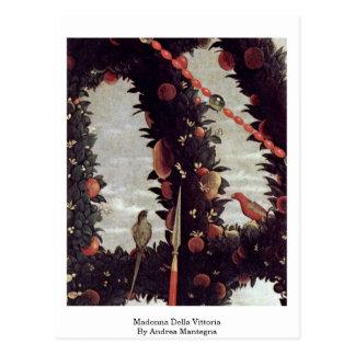 Madonna Della Vittoria By Andrea Mantegna Post Cards