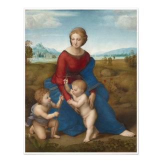 Madonna en arte renacentista de Raphael del prado Cojinete