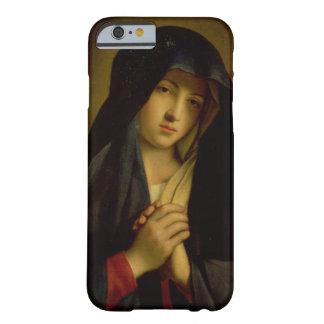 Madonna en el dolor (aceite en lona) funda de iPhone 6 barely there